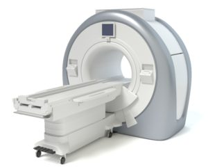 3d illustration of a MRI machine