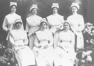 Graduating class of nurses